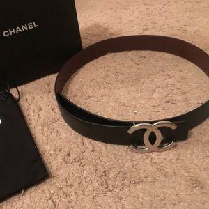 Reversible Chanel belt